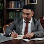 Een notaris bij het kopen van een woning